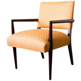 Ebonized Wood Armchair For Sale