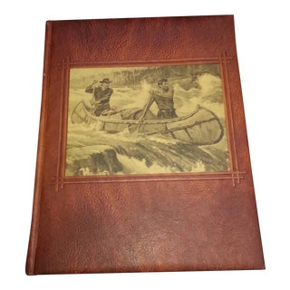 """""""America's Great Outdoors"""" Leather Bound Book"""