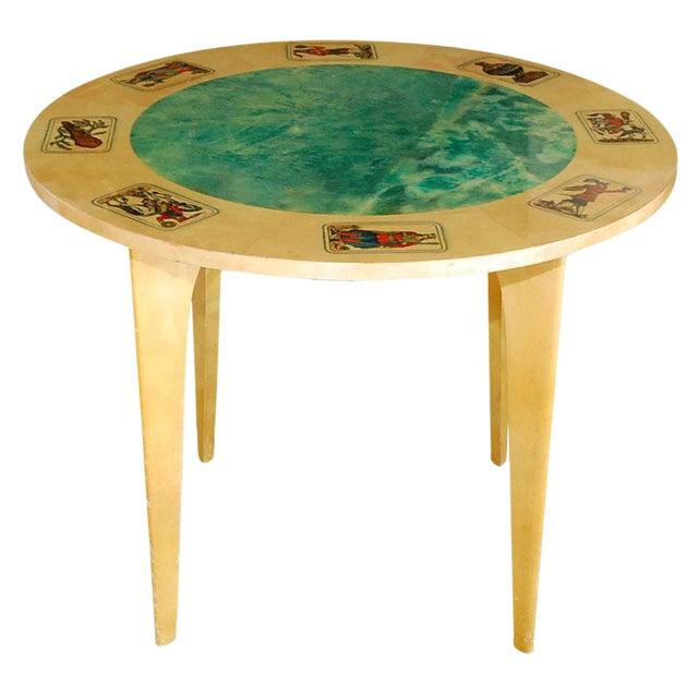 1950s Aldo Tura Game Table For Sale