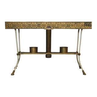 Antique Decorative Church Metal Table