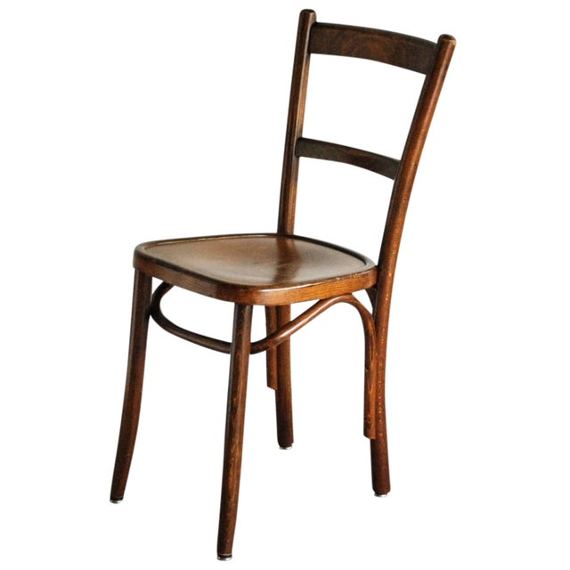 Bentwood Thonet Style Ladderback Cafe Chair