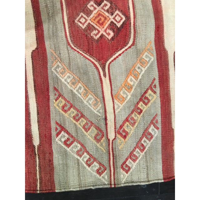"""Bellwether Rugs Vintage Turkish Kilim Rug - 4'11"""" x 7'9"""" - Image 9 of 9"""
