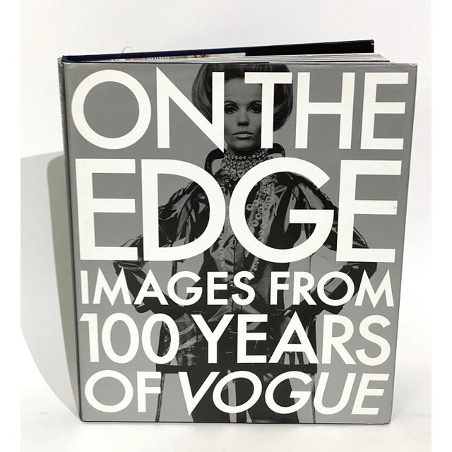 """""""On the Edge: Images From 100 Years of Vogue"""" Book 1st Edition 1992 Design Center Sample Copy For Sale - Image 12 of 12"""