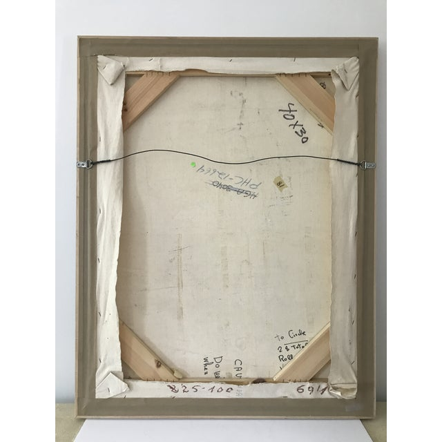 Signed Gino Hollander Original Acrylic Painting - Image 8 of 11