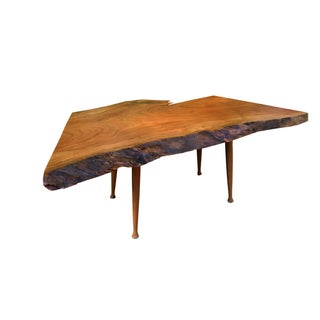 Cherry Burl Live Edge Coffee Table