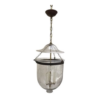 Late 19th Century Vintage Hanging Bell Jar For Sale