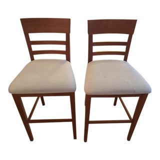 Room & Board Custom Dining Stools - a Pair
