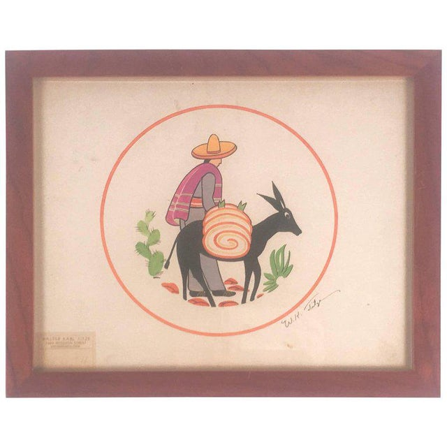 Walter Karl Titze Drawing for a Dinner Plate For Sale - Image 10 of 10
