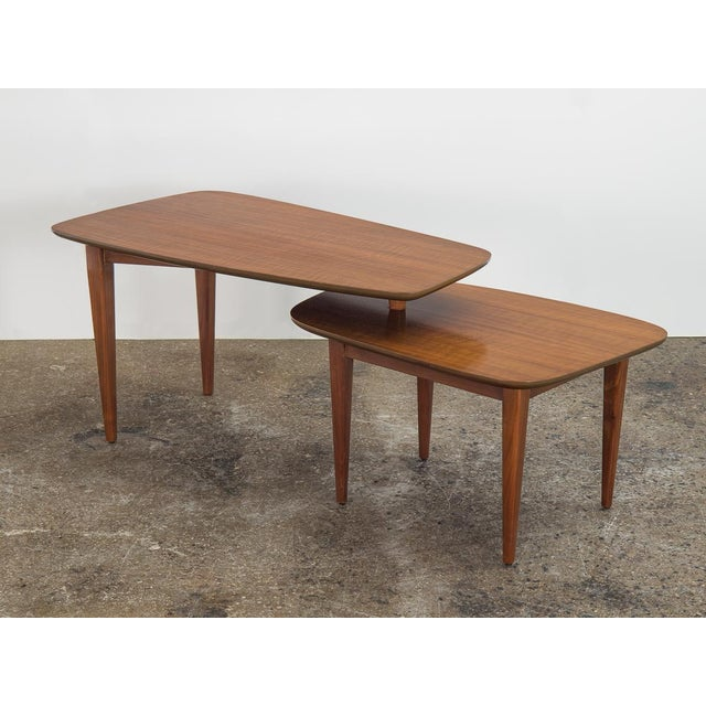 Mid-Century Modern 1950s Bertha Schaefer Folding Coffee Table For Sale - Image 3 of 12