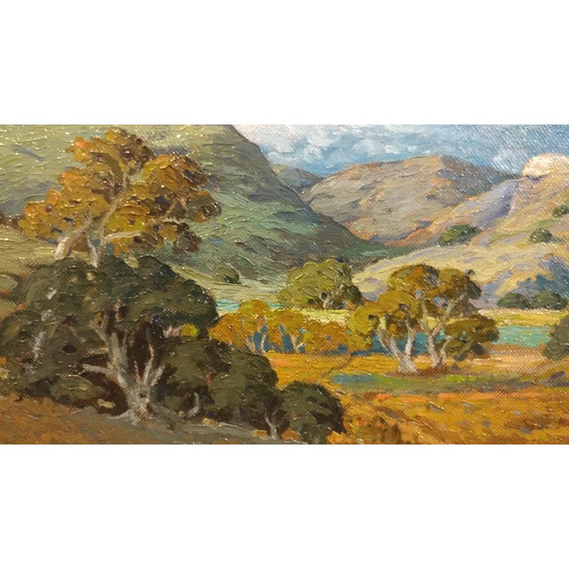 Howard Arden Edwards- Eagle Rock Canyon- California Plein Air Oil Painting c.1925 For Sale In Los Angeles - Image 6 of 10