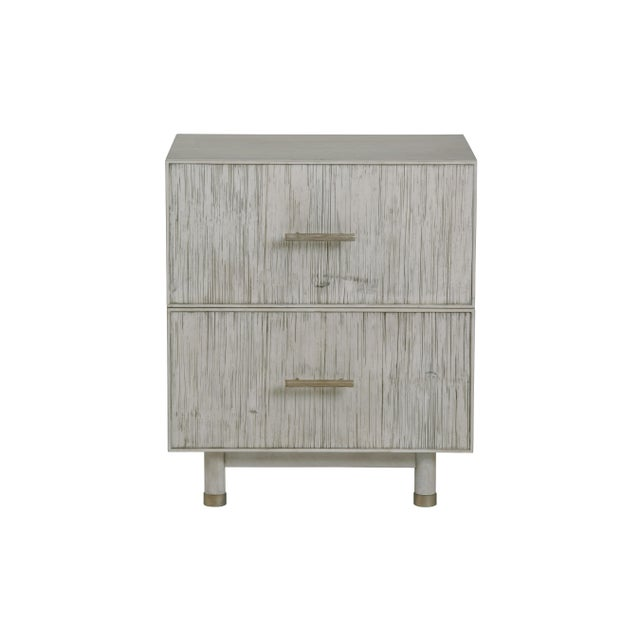 Century Furniture Century Furniture Biscayne 2 Drawer Nightstand, Peninsula Finish For Sale - Image 4 of 4