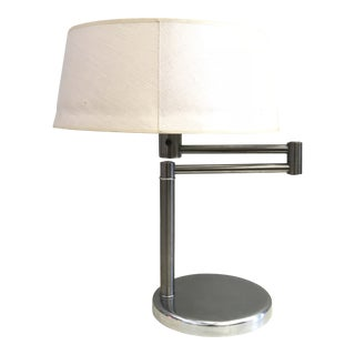 Walter Von Nessen Swing Arm Lamp For Sale