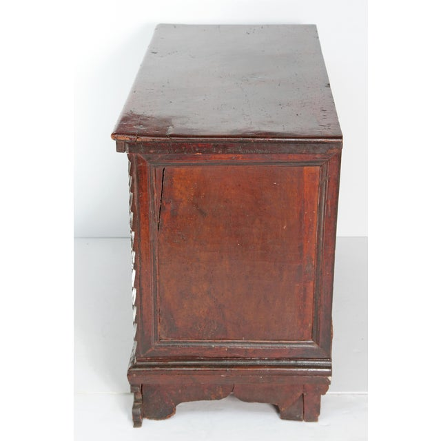 18th Century Spanish Walnut Chest For Sale - Image 10 of 12