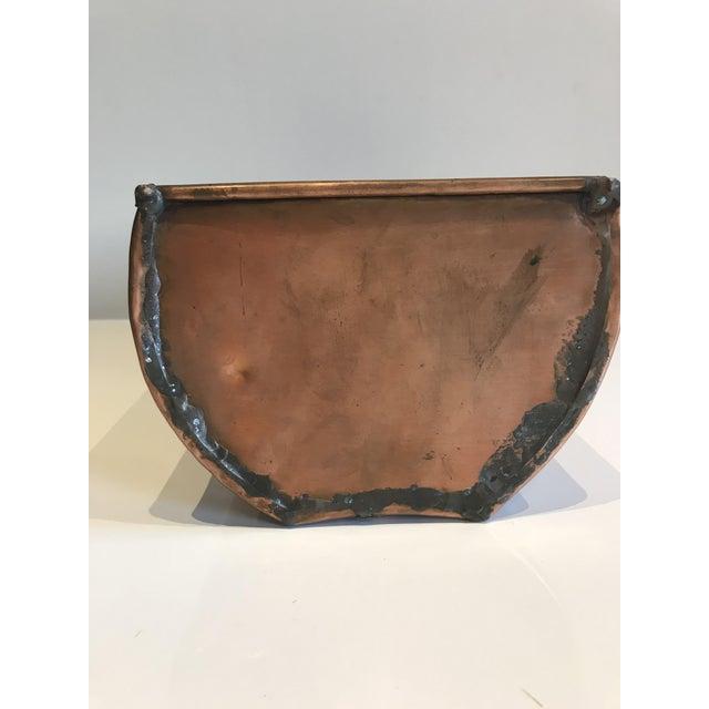 Cottage Turkish Copper Planter For Sale - Image 3 of 6