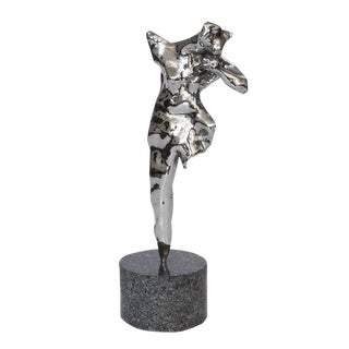 Abstract Modern Female Nude Sculpture by Don Snyder For Sale