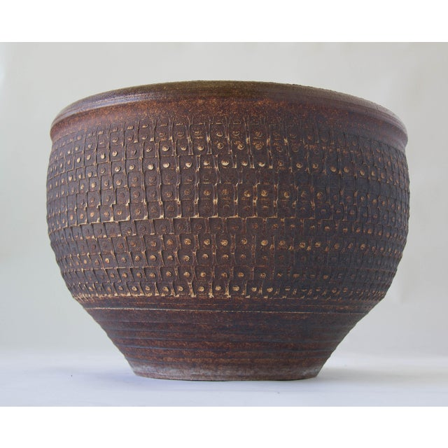 Bob Kinzie Bowl Planter for Affiliated Craftsmen - Image 3 of 7