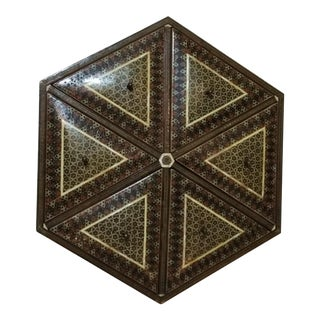 Middle Eastern Syrian Inlay Marquetry Jewelry Box