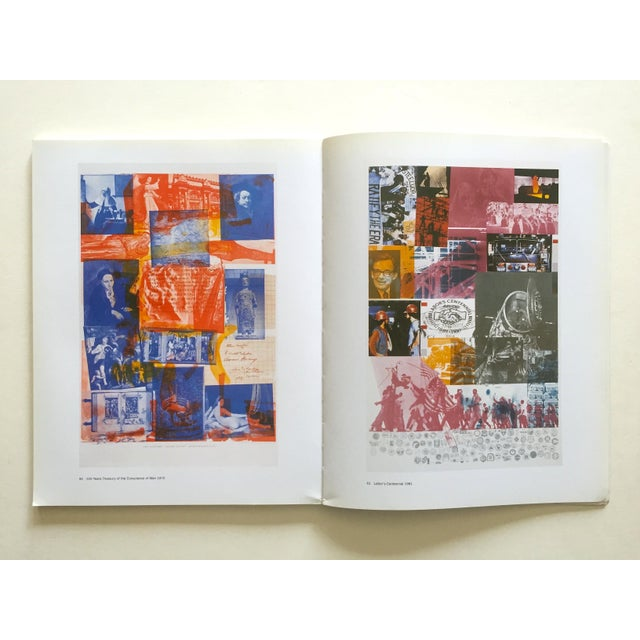 """ Rauschenberg Posters "" Rare First Edition Collector's Lithograph Print Modern Art Book For Sale - Image 9 of 13"