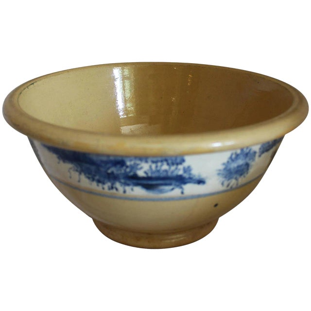Vintage Ceramic Mixing Bowl For Sale