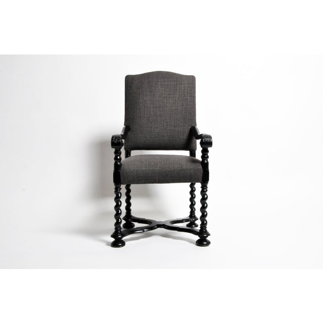 Louis XIII Style Carved Armchair For Sale - Image 13 of 13