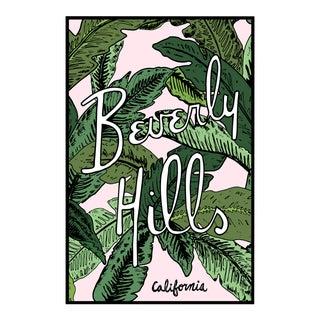 """""""Beverly Hills Palm Illustration"""" Original Framed Illustration"""