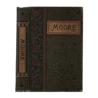 "1888 ""The Poetical Works of Thomas Moore"" Collectible Book For Sale"
