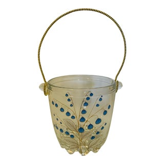 Mid 20th Century Petite Signed Italian Ice Bucket For Sale
