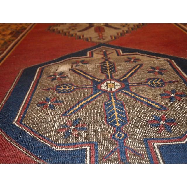 Antique Turkish Anatolian Rug - 4′1″ × 9′1″ - Image 4 of 10
