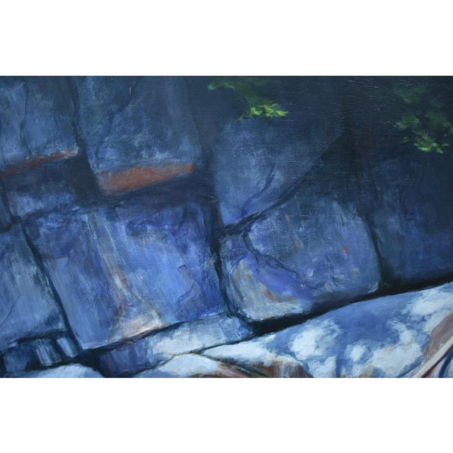 Paint Vermont Swimming Hole Contemporary Painting by Stephen Remick For Sale - Image 7 of 12