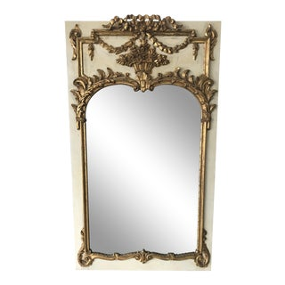 1960s Handcrafted Italian Mirror, Signed For Sale