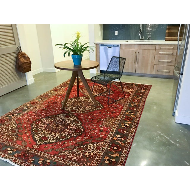 Large Hand Knotted Persian Rug - 6'11x10'0 - Image 8 of 11
