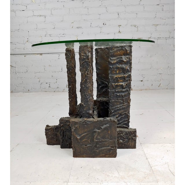 1960s Adrian Pearsall Brutalist Small Coffee or Side Table For Sale - Image 5 of 10