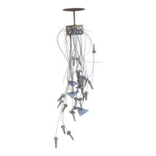 "John A. Slavik ""Remember Them"" Hanging Aluminum & Steel Art Sculpture For Sale"