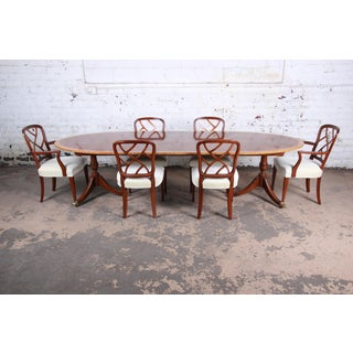 Kindel Furniture Georgian Banded Mahogany Dining Set Preview