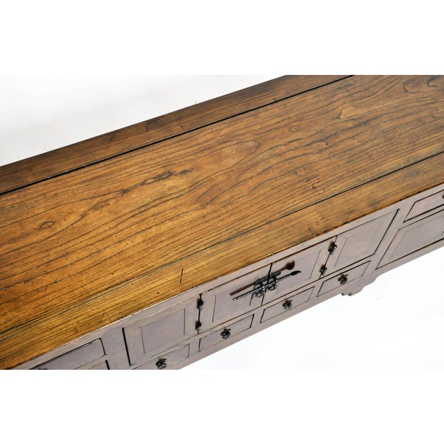 Metal 19th Century Chinese Kwang Chest With 8 Drawers For Sale - Image 7 of 13