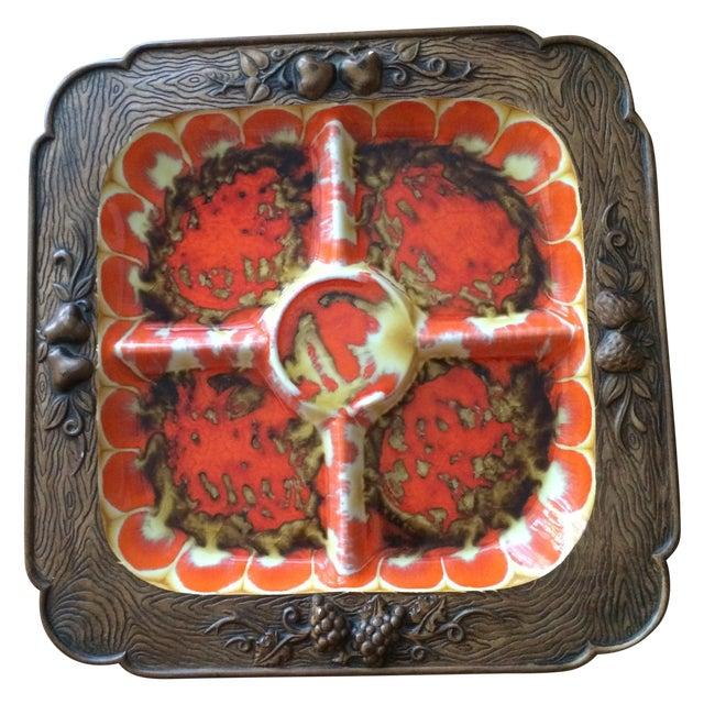 Vintage Treasure Craft Serving Platter - Image 1 of 5