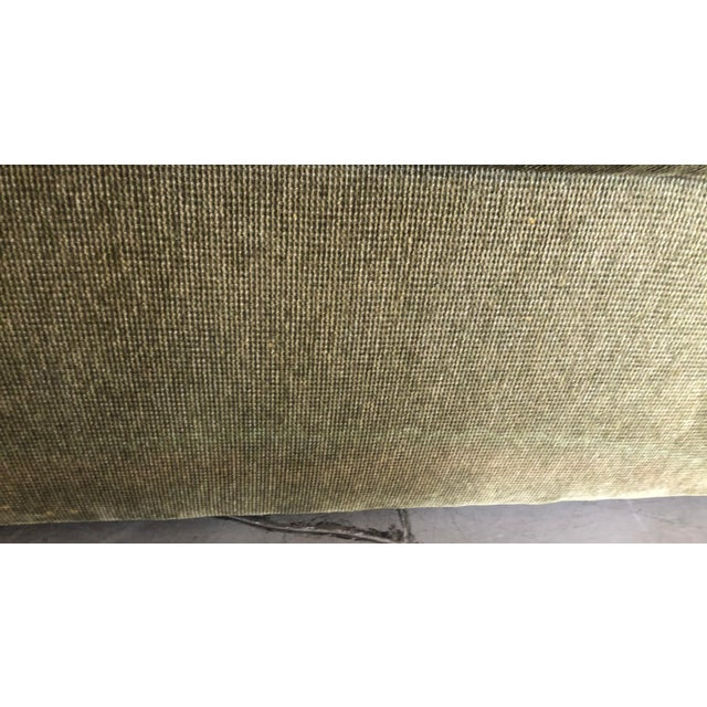 Olive Green 3 Piece Sectional From 80s For Sale - Image 12 of 13