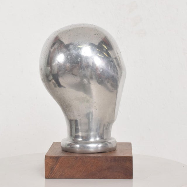 Mid-Century Modern Aluminium Sculpture by Myrna M Nobile, 1969 For Sale In San Diego - Image 6 of 10