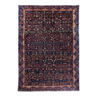 Blue Ground Oversized Bakhtiari Carpet For Sale