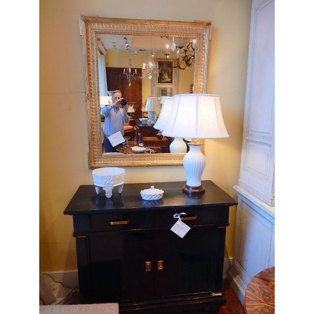 Glass 19th Century French Gold Gilt Mirror For Sale - Image 7 of 8