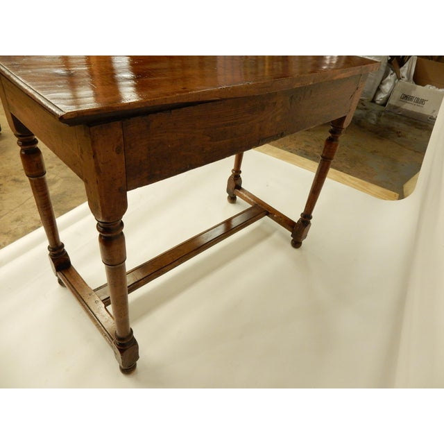 Early 19th Century Early 19th Century Italian Walnut Side Table/Console For Sale - Image 5 of 7