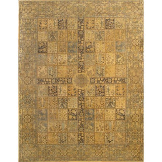 Pasargad Antique Persian Tabriz Rug - 10′ × 13′ For Sale