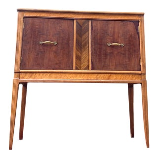 1950's Art Deco French Side Board Cabinet in the Manner of Gimson and Slater For Sale