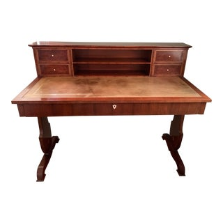 Replica Austrian Biedermeier Writing Desk For Sale