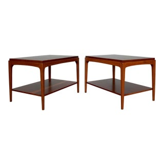 1960s Danish Modern Lane End Tables - a Pair For Sale