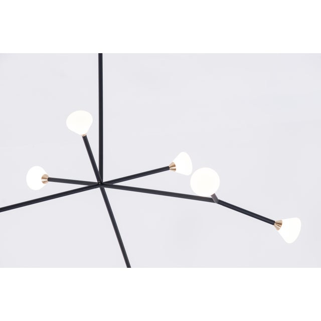 McKenzie & Keim Super Nova Chandelier by McKenzie & Keim For Sale - Image 4 of 13