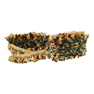 Fleco Spain Large Pompoms Tassel Fringe - 33+ Yards For Sale