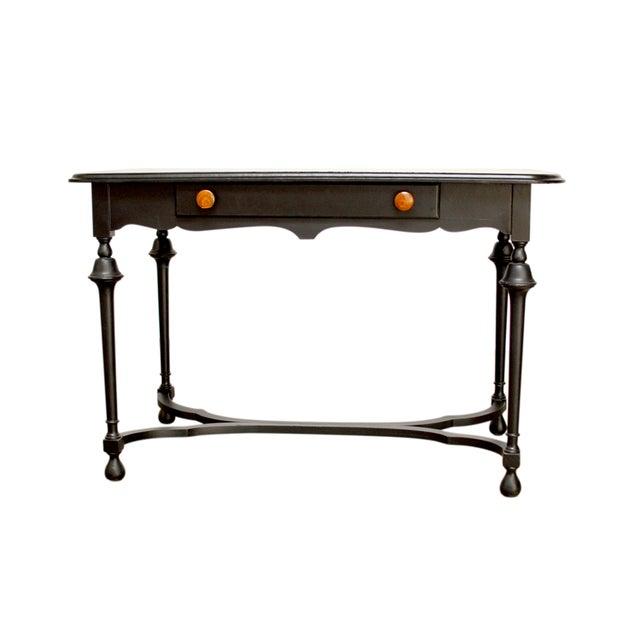 Black Antique Ladies Writing Desk - Image 1 of 7