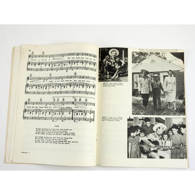 Country 1951 Hank Snow Music Folio For Sale - Image 3 of 5
