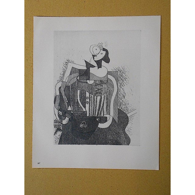 Vintage Lithograph by Georges Braque - Image 2 of 3
